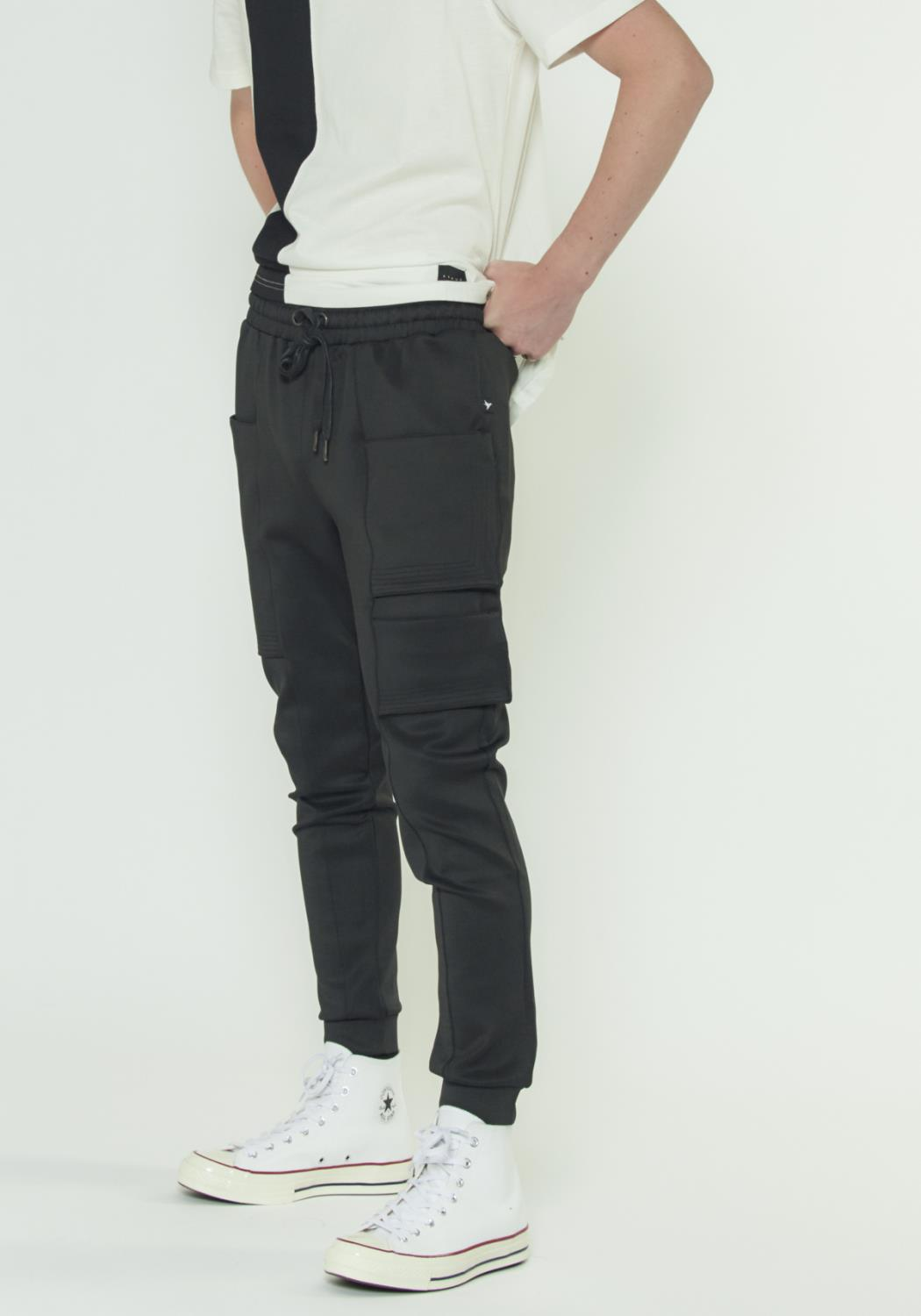 TRACK PANTS WITH MULTIPLE POCKETS