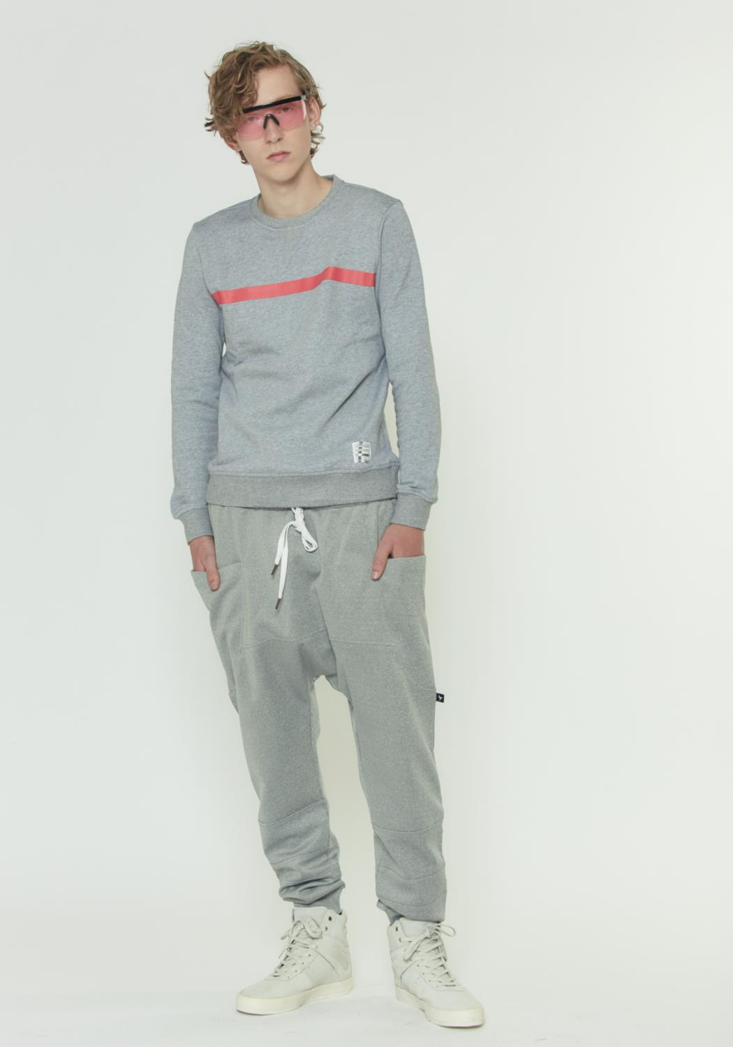 TRACK PANTS IN LIGHT WEIGHT SCUBA FABRIC