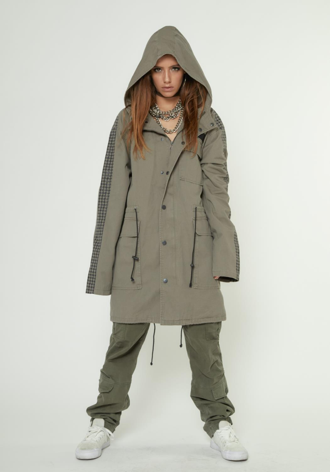 OVERSIZE HOODED M65