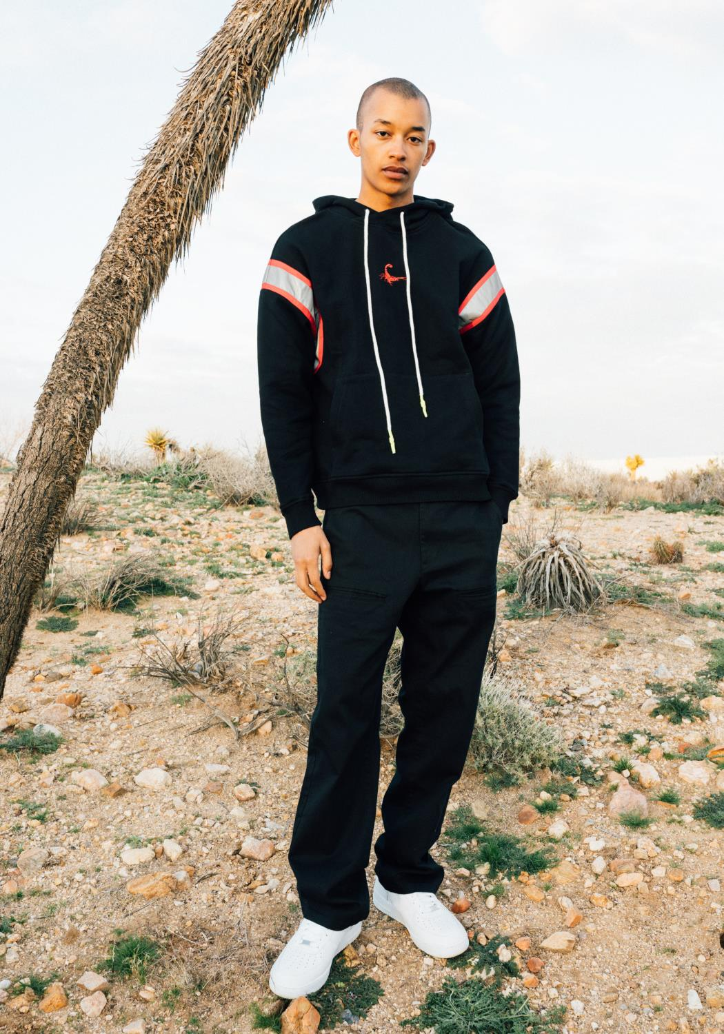 Reflective Tape Hoodie