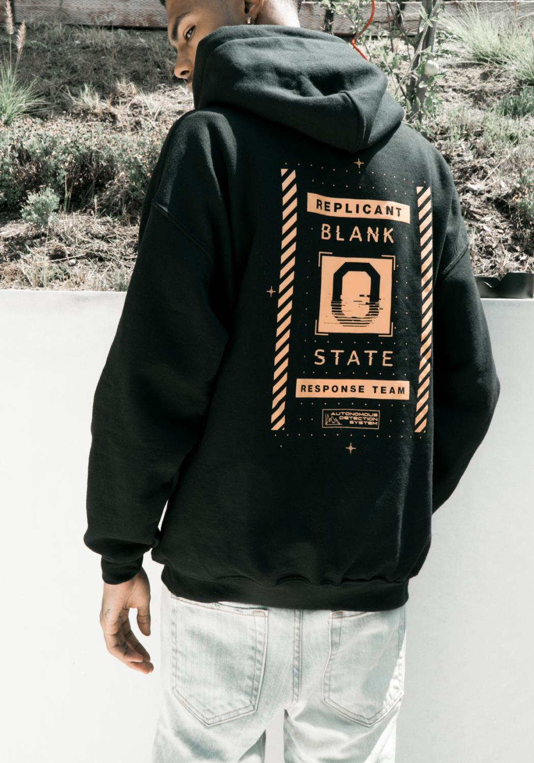 Blank State Replicant Hoodie