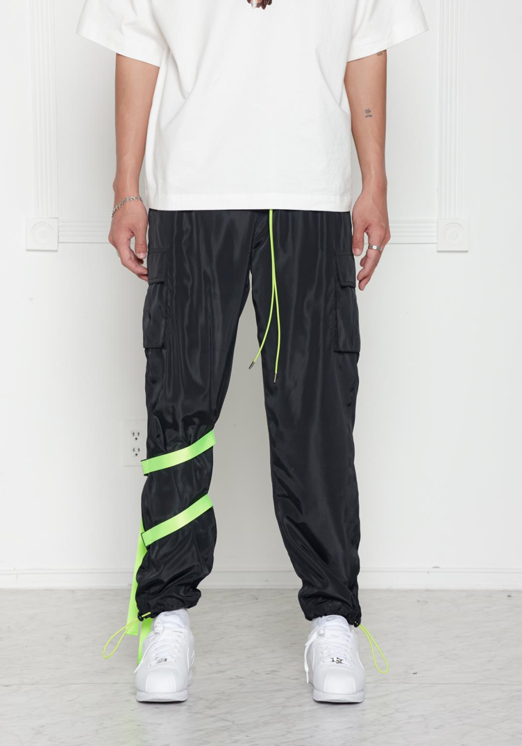 Strapped Shell Cargo Pants