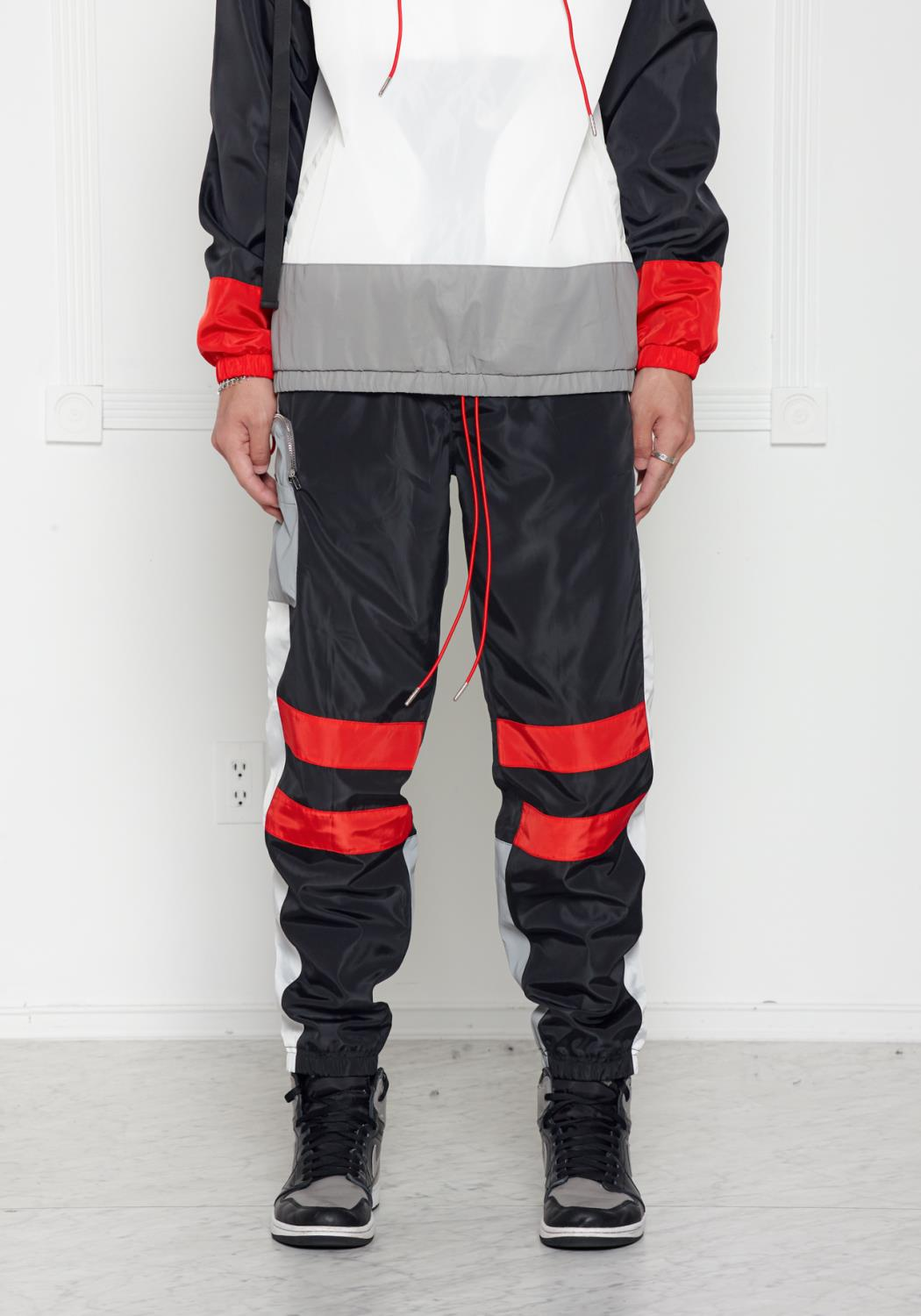 Blank State Mens X1 Cargo Swishy Pants [Reflective]