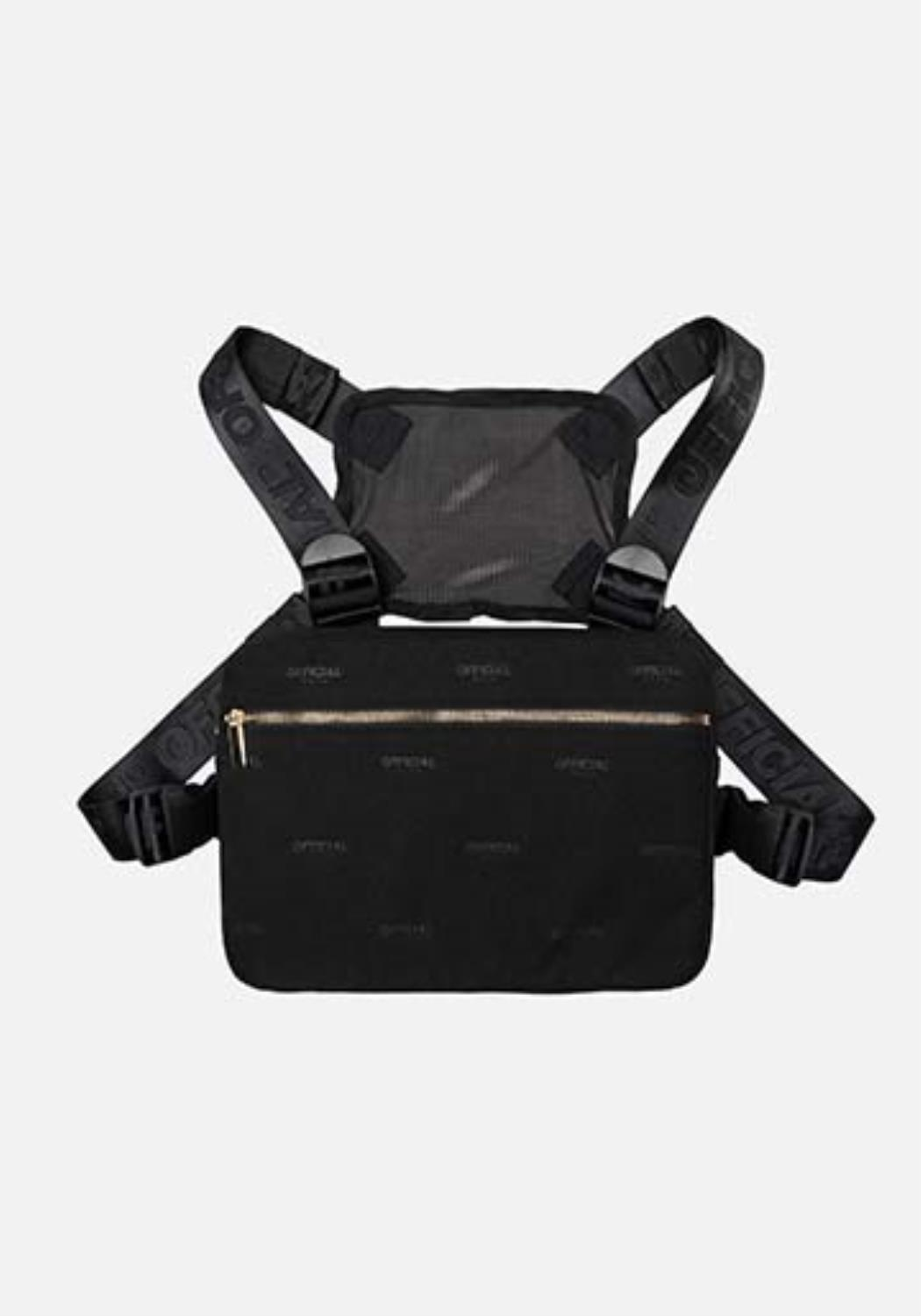 OFFICIAL - Milano Luxe Chest Utility - Black