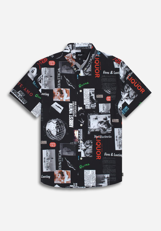 HUF - Headlines Woven Shirt