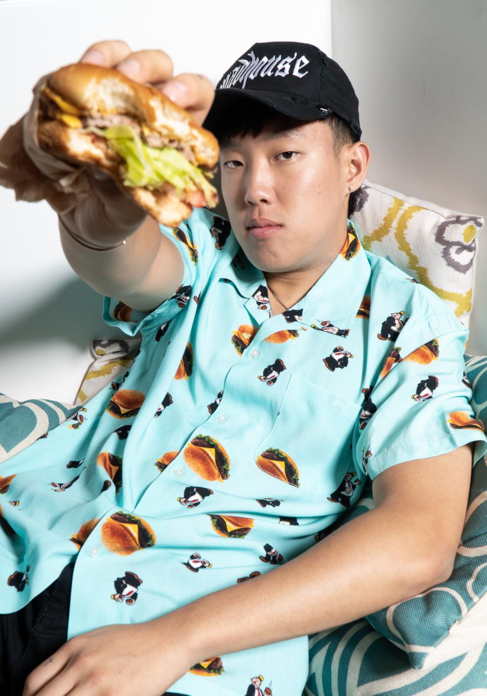 HUF- Wimpy Burger Button-up Shirt