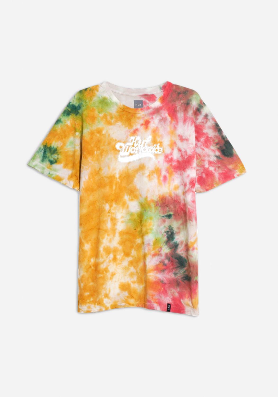 HUF - Further Logo Tie Dye T-shirt