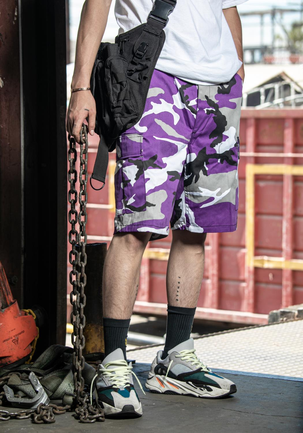 Rothco - Colored Camo BDU Shorts