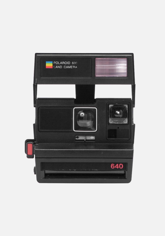 Polaroid - 600 Camera - Black Flash