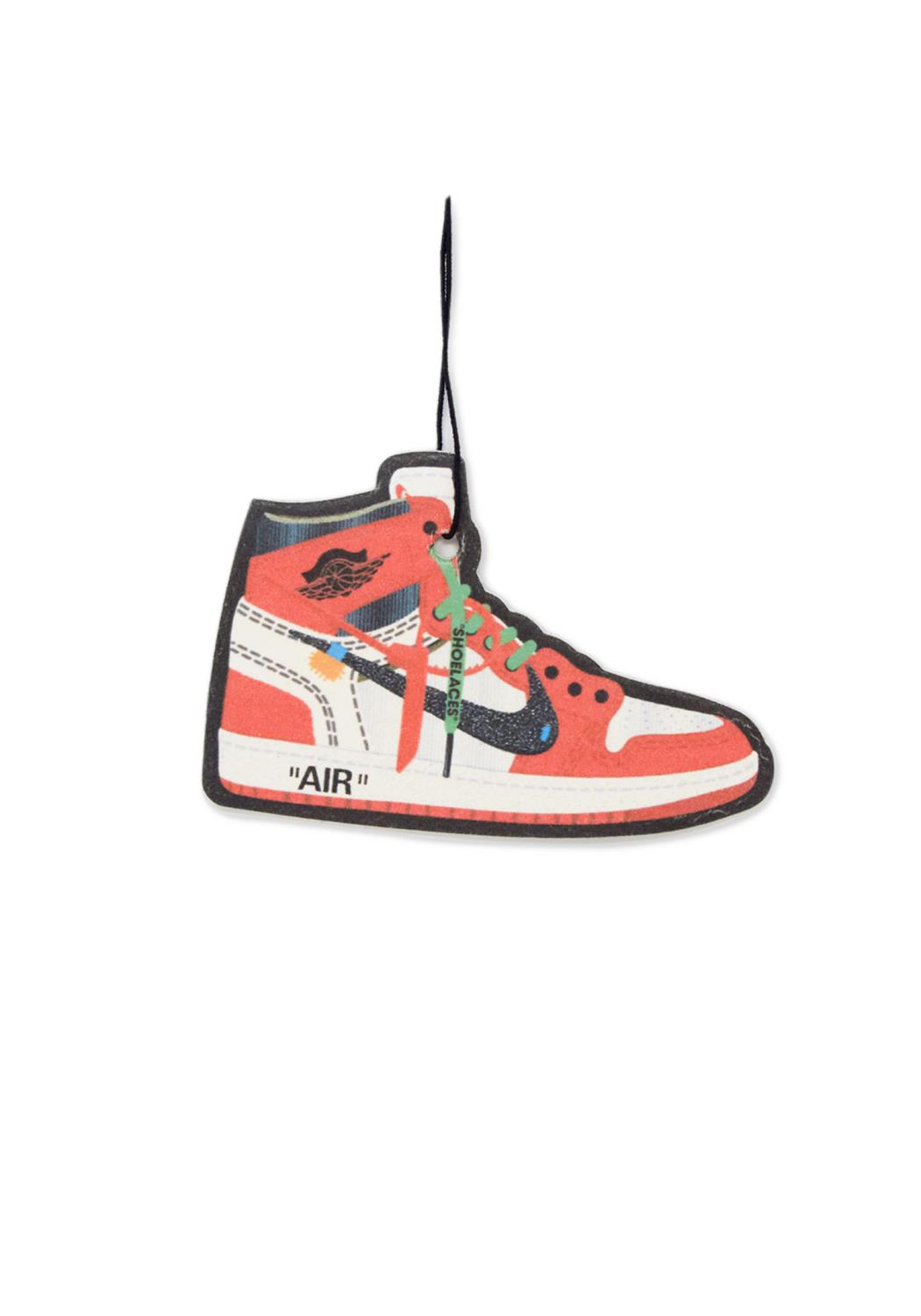 SOLD INT- Off White Red AJ 1 Air Freshener