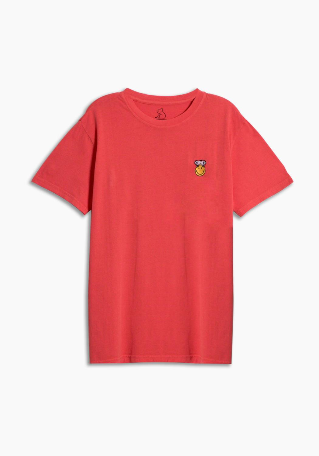 SMILEY x KUWALLA RED TEE