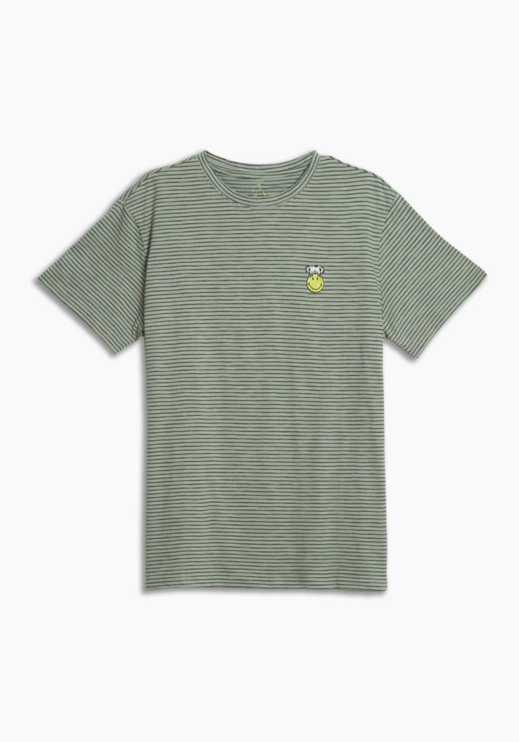 KUWALLA X SMILEY STRIPED TEE