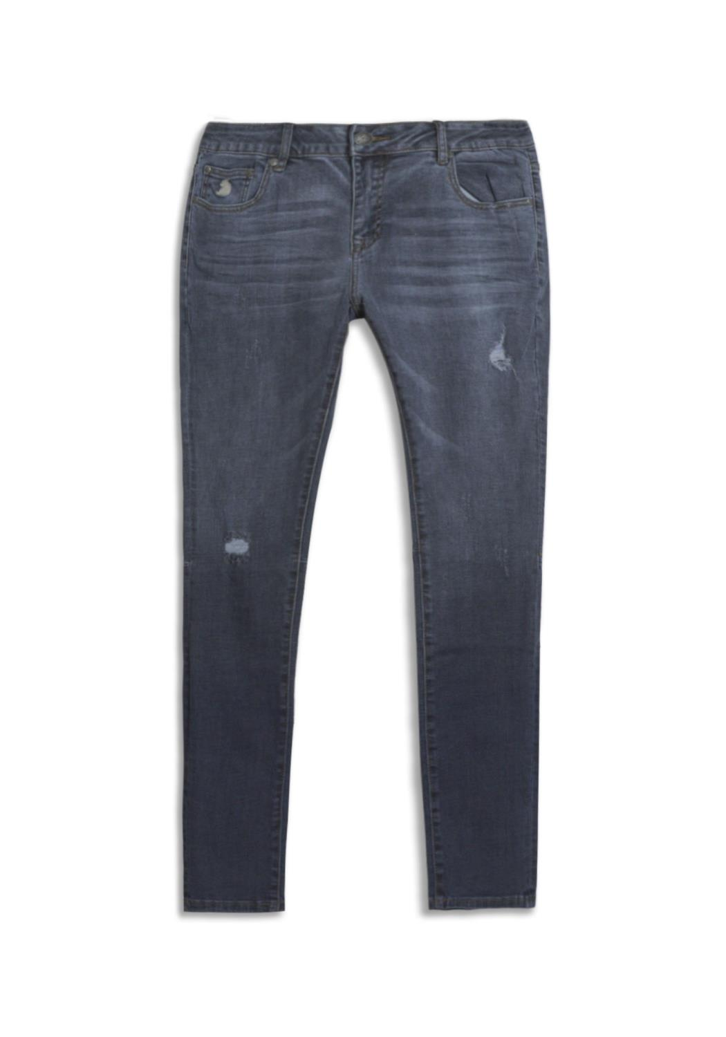 Kuwalla Distressed Denim Ombre