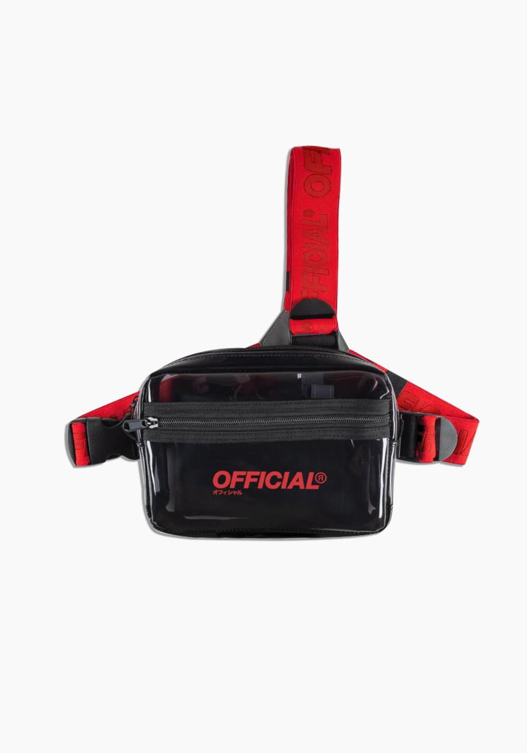 Translucent Tri-Strap Utility - Black / Red