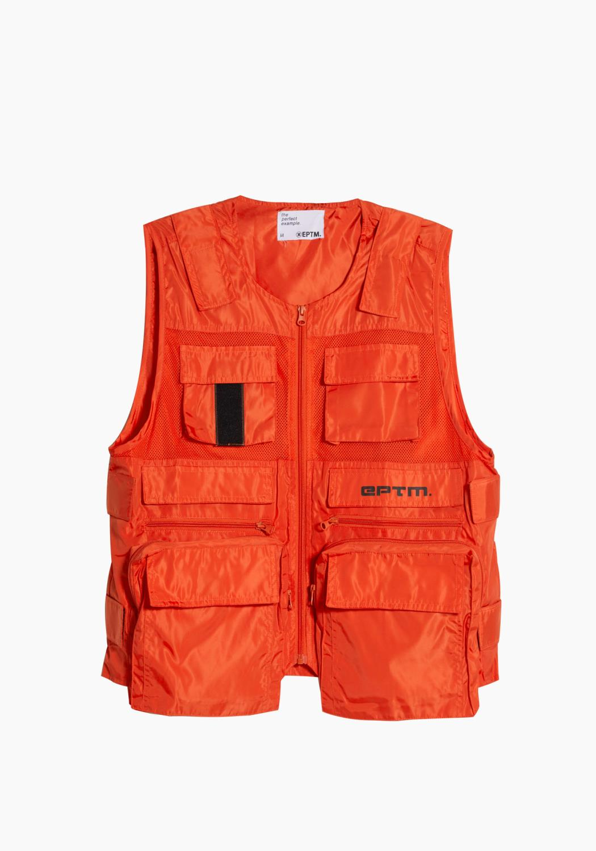 Eptm Ballistic Utilility Vest in Orange