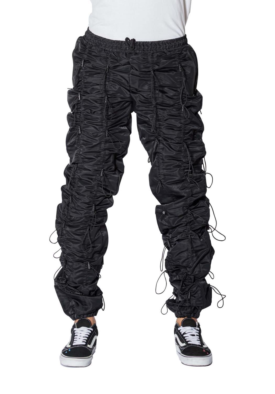 EPTM- Black Accordion Pants