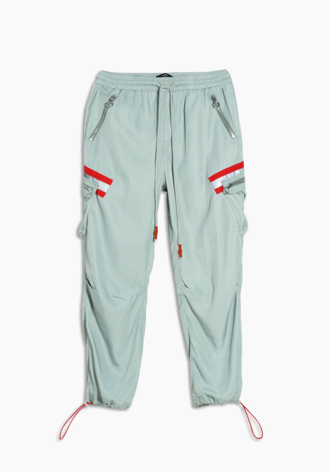 Utility Pants with Cargo Pockets with Reflective Tape