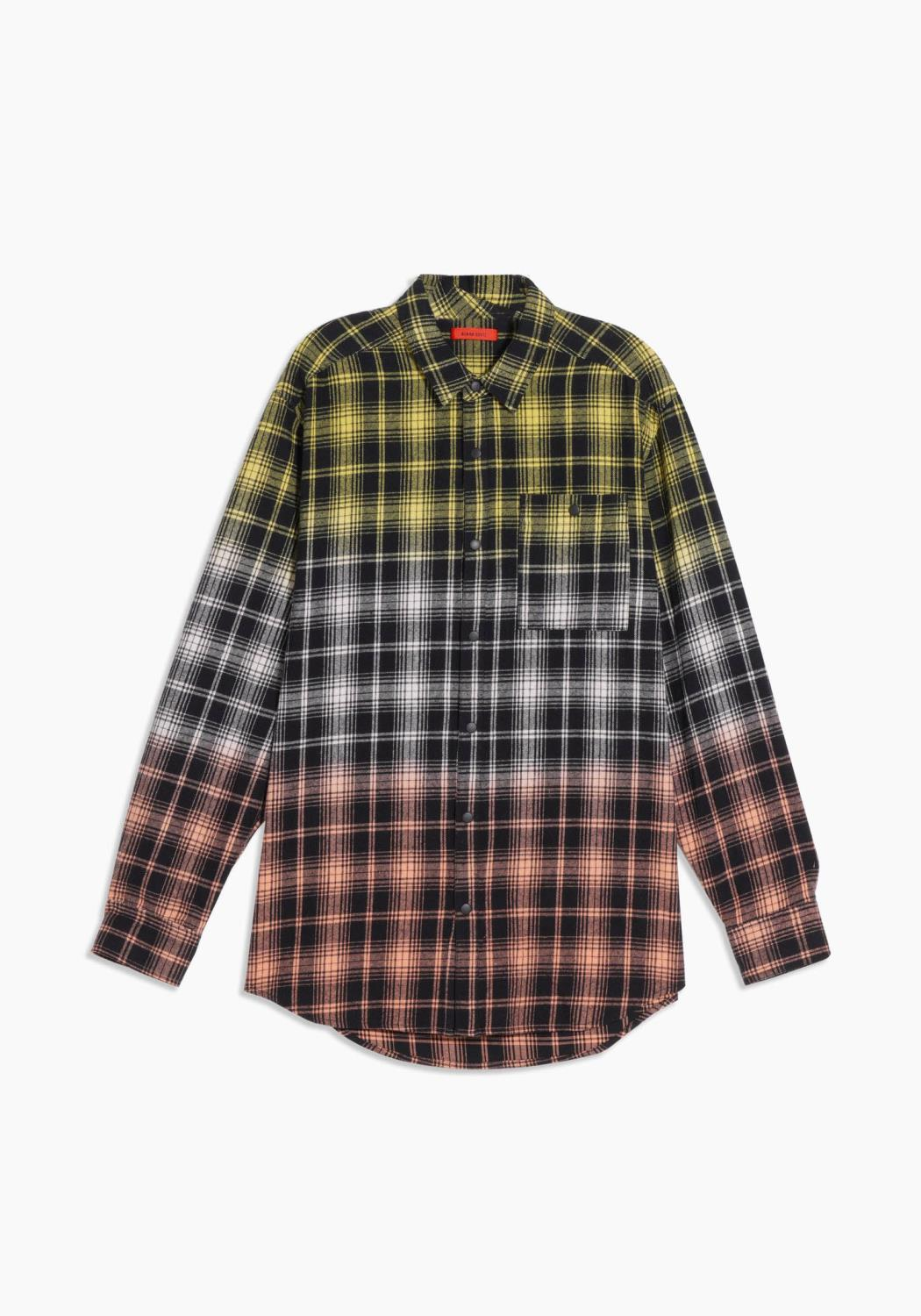 Mens Double Dip Flannel