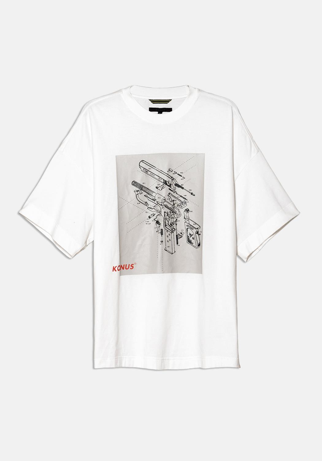 Konus Oversize Short Sleeve Graphic Tee