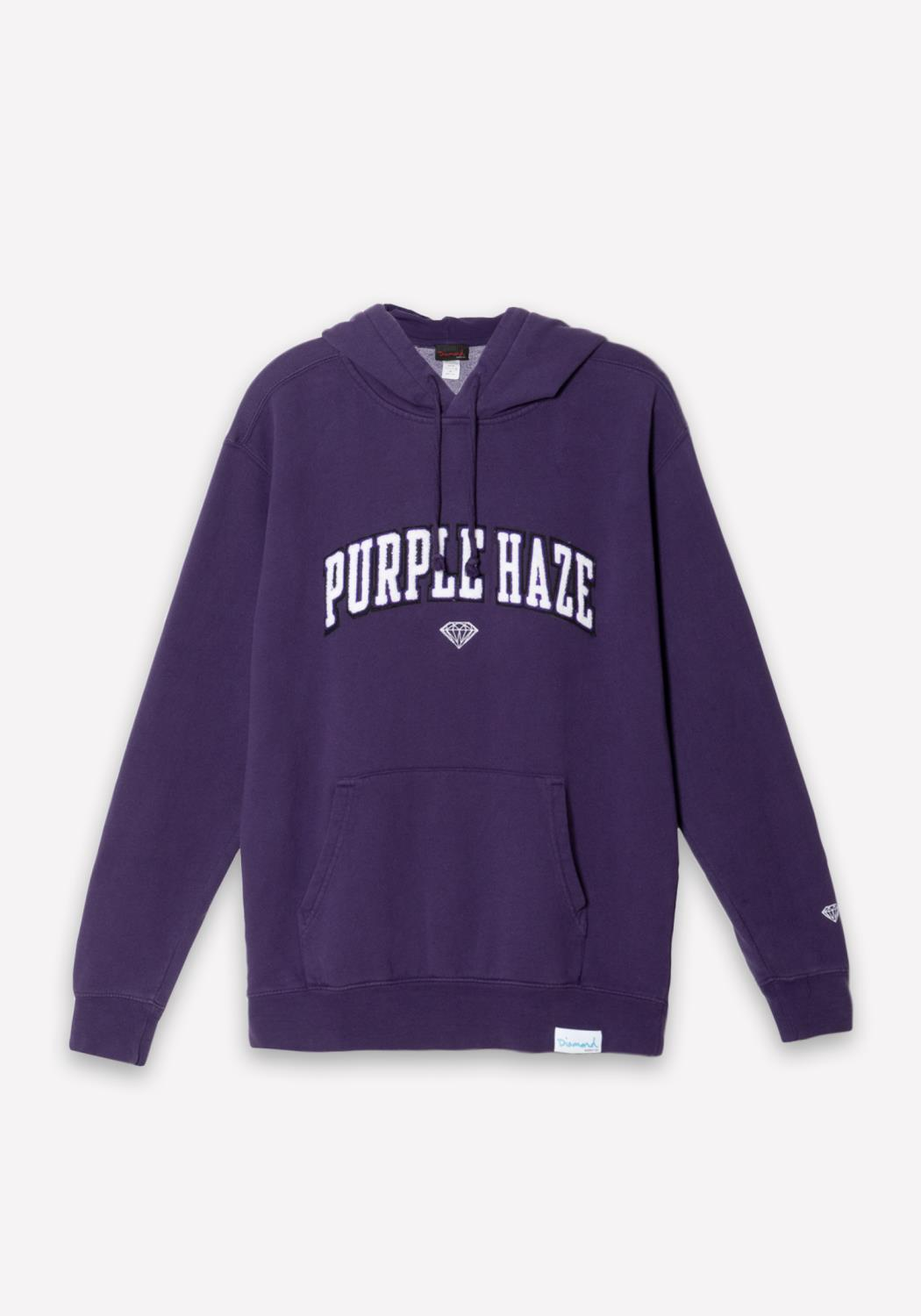 Diamond x Camron Purple Haze Hoodie in Purple
