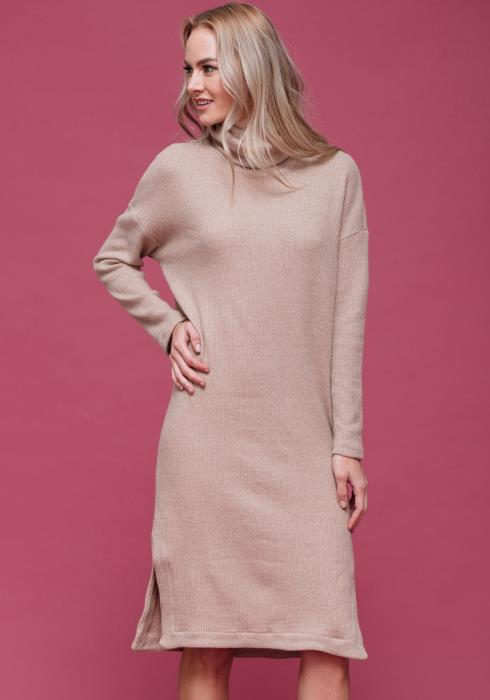 Cozy Knit Sweater Dress