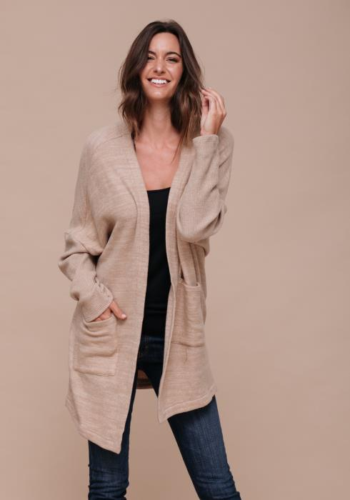 Thick Pocket Cardigan