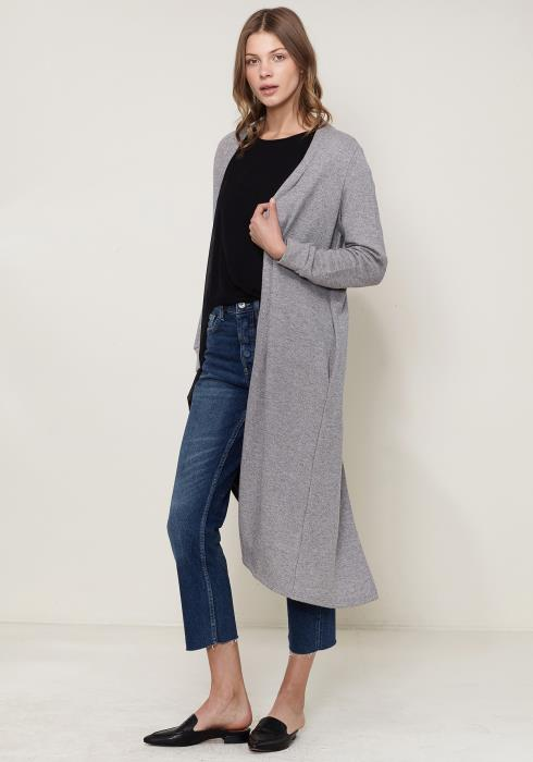 Knit Duster Cardigan