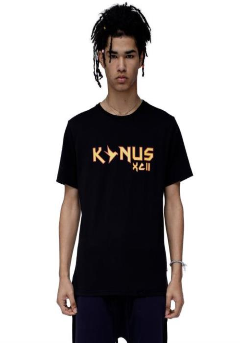 "Konus T-Shirt with ""Hell"" Screen Print"