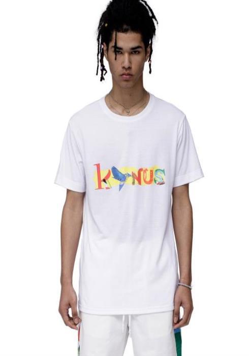Konus T-Shirt with Artistic Screen Print