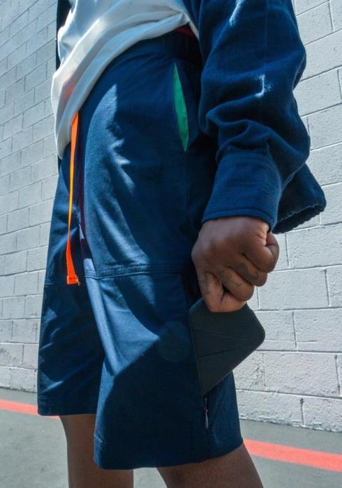 Konus Stretch Twill Shorts with Nylon Tape Closure