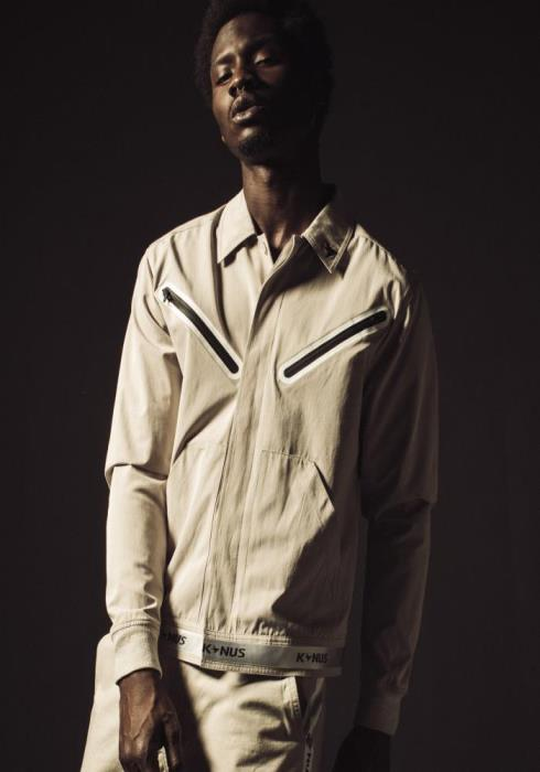 Konus Short Jacket with Tape on Waistband