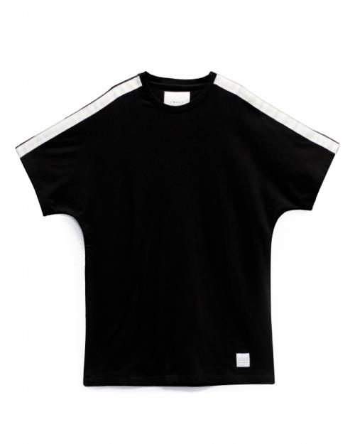 Konus Dolman Short Sleeve Crewneck Tee with White Tape