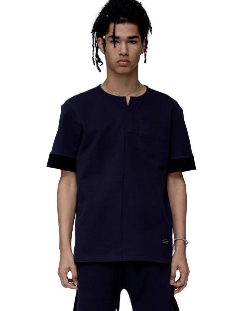 Konus Short Sleeve Tee with Seam Detail