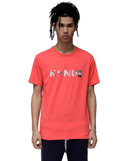 Konus T-Shirt with Multi Color Logo Print