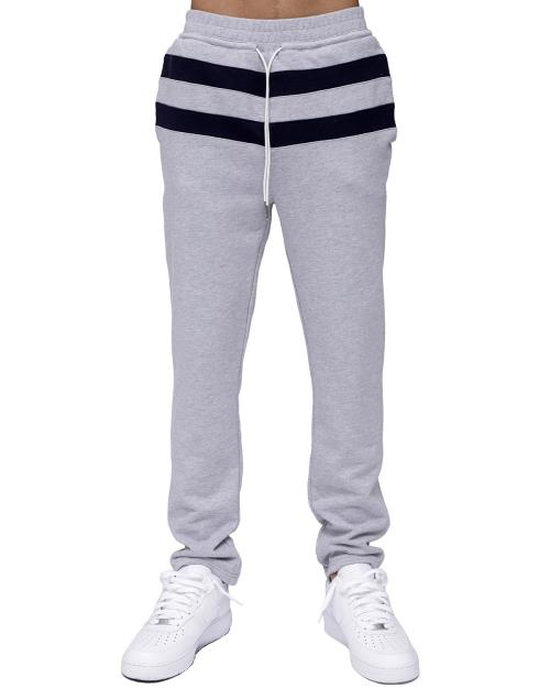 Konus Sweatpants with Contrast Color Stripes