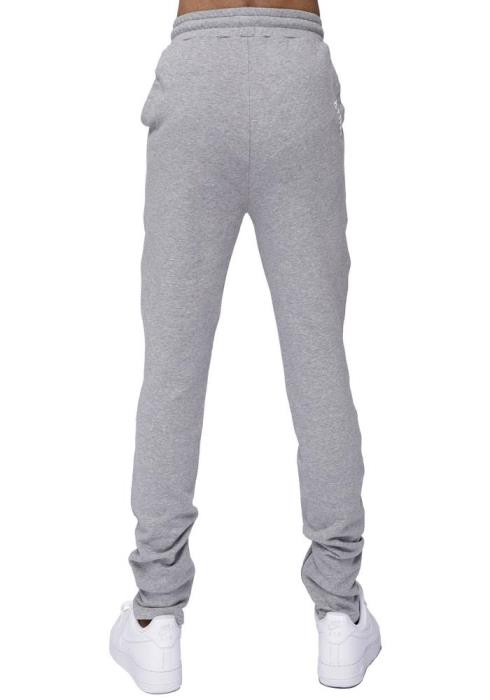 Konus Sweatpants with Zipper on Inseam and Zipper Pocket