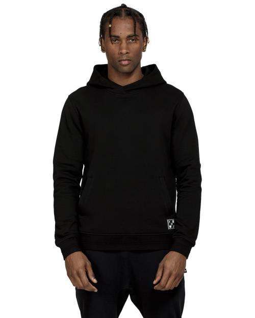 Konus Pullover Hoodie with Big Logo Print on Back