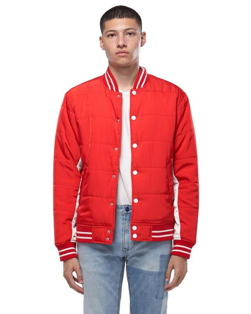 Konus Snap Button Padded Bomber Jacket