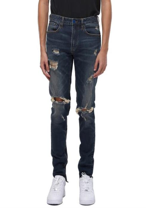 Konus Distressed S2 Zipper Jeans