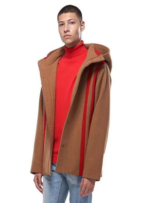 Konus Oversized Wool Hooded Coat
