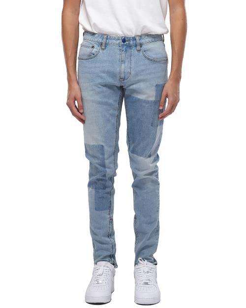 Konus Patch Detail S2 Zipper Jeans