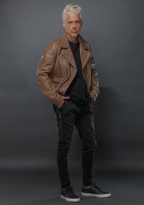 Konus Raven Men Clothing Leather Jacket
