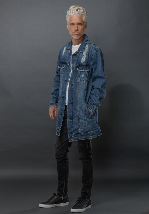 Konus Balkins Denim Jacket Men Clothing