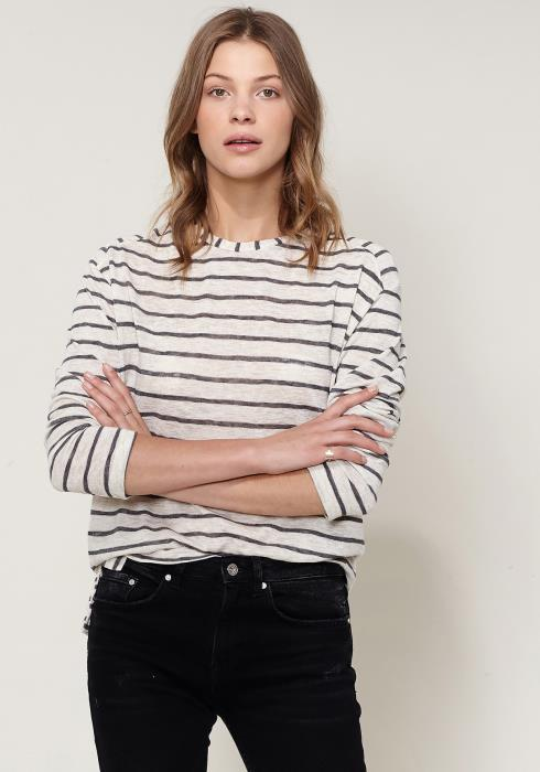 Ro&De Striped Light Top