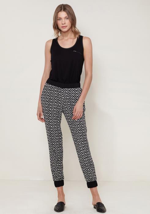 Ro&De Noir Printed Pants