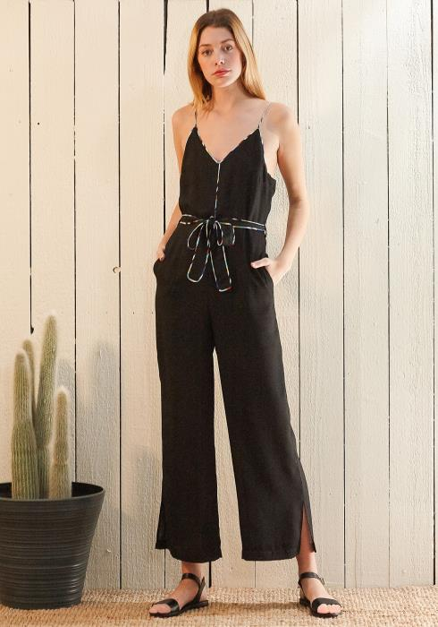 Nurode Multi-Color Binding Jumpsuit
