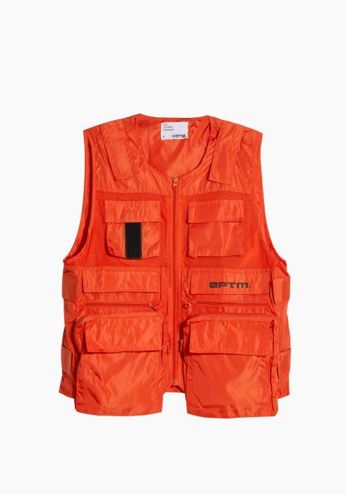 Eptm Ballistic Utilility Vest in Orange
