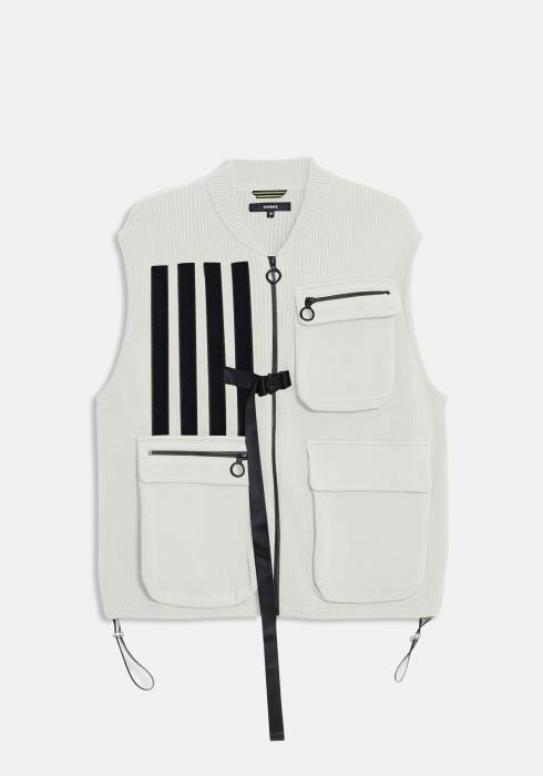 Konus Sweater Utility Vest with Bellow Pockets