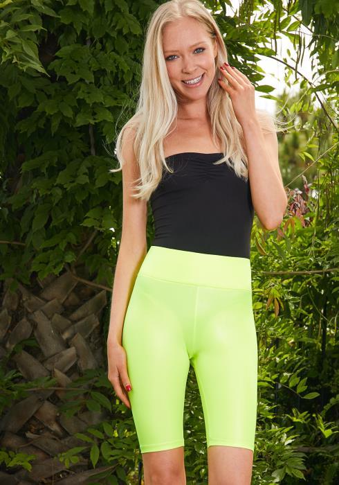 Tansy Neon Biker Pants