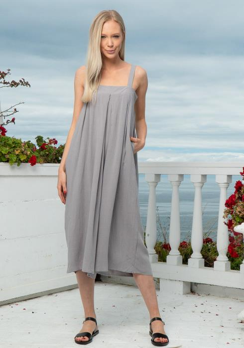 Tansy Tunic Cropped Jumpsuit
